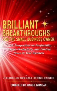 photo of Brilliant Breakthroughs for the Small Business Owner book cover for Brilliant Offers article #BrilliantBizBook