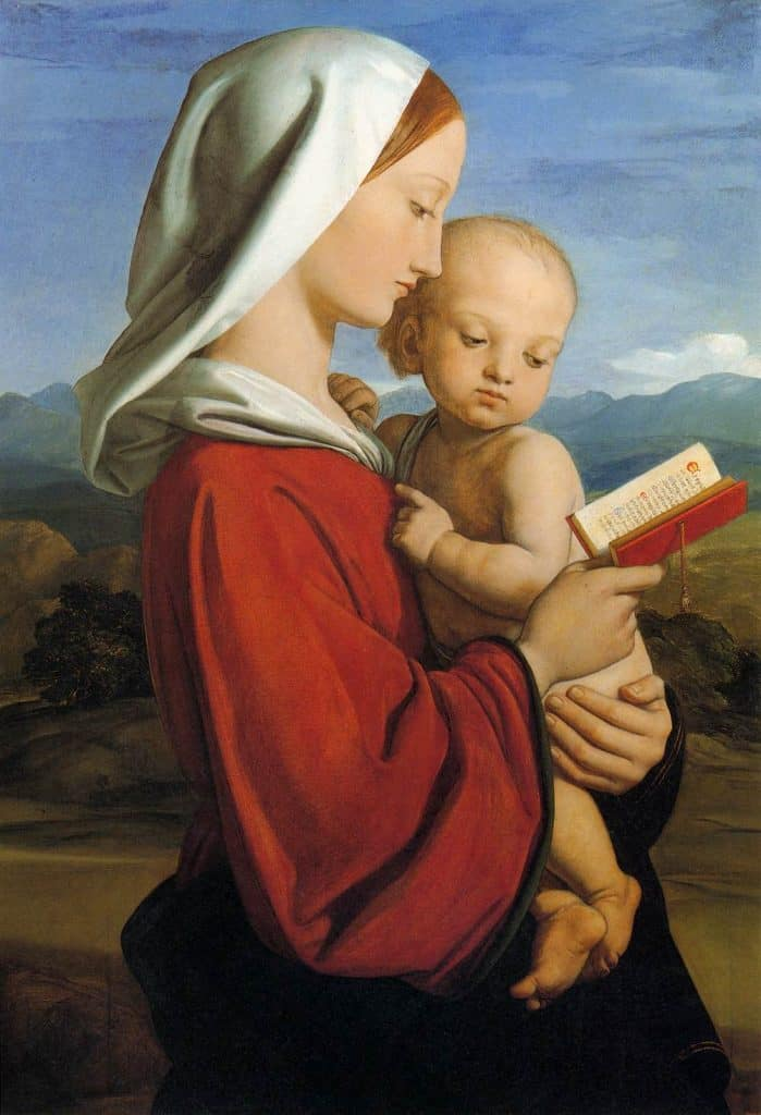 Madonna and Child image to illustrate Christmas Letter 2019 post