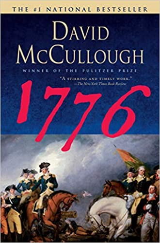 cover illustration of 1776 by David McCullough